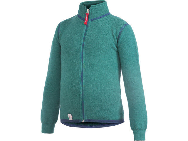 Woolpower 400 Full-Zip Jacket Kinder turtle green